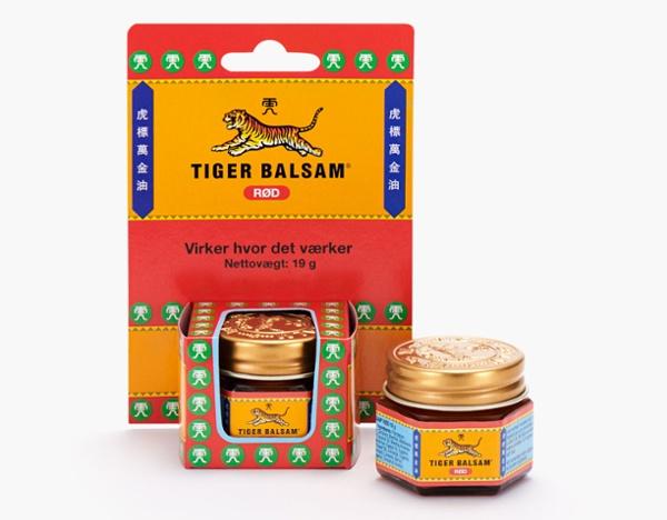 Tiger Balsam  Produktbilleder (psd)